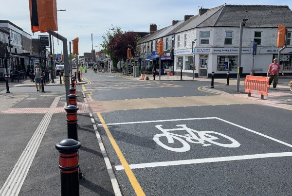 Completed Crossing Upgrade Whitchurch Village
