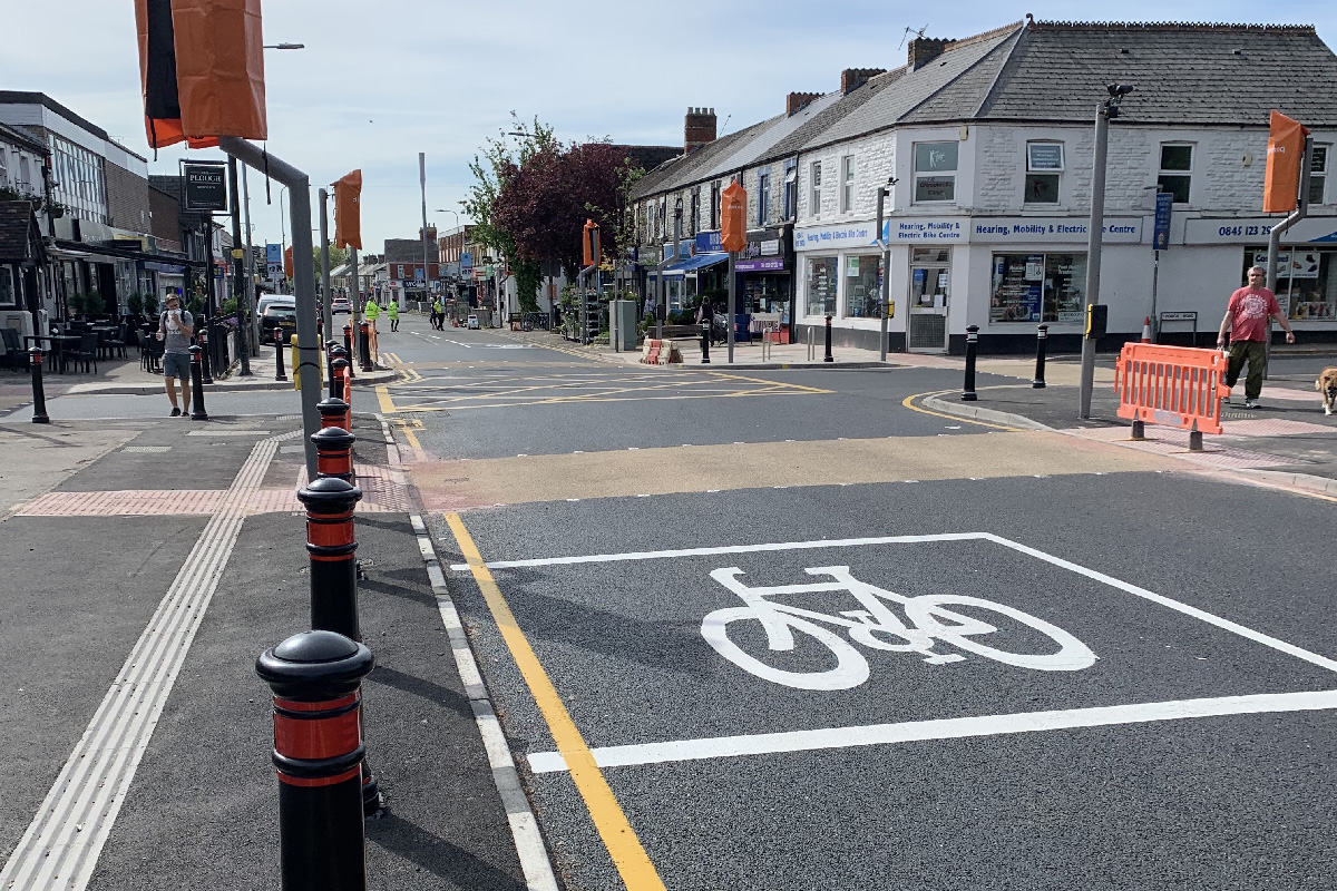 Whitchurch crossing safety improvements